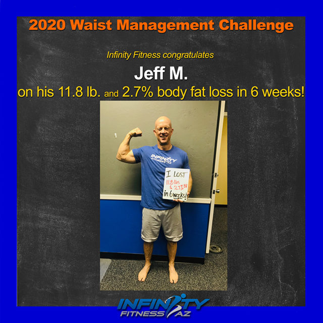 Jeff's Transformation at Infinity Fitness