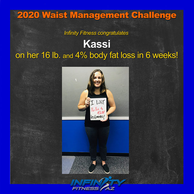 Kassi's Transformation at Infinity Fitness