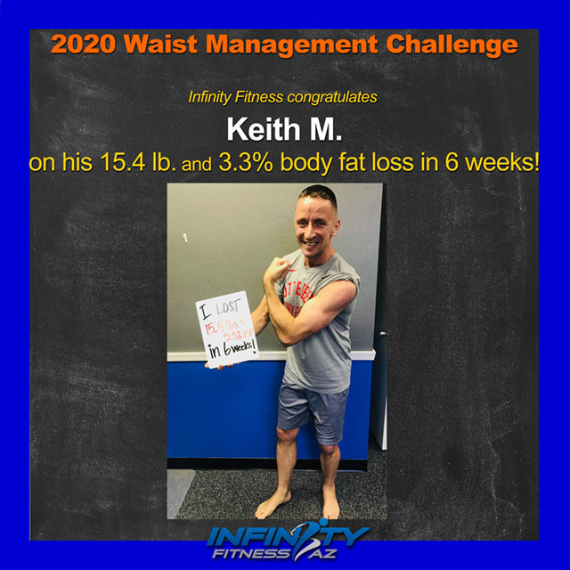 Keith's Transformation at Infinity Fitness