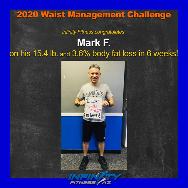 Mark's Transformation at Infinity Fitness