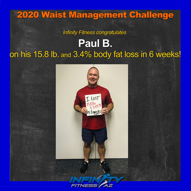 Paul's Transformation at Infinity Fitness
